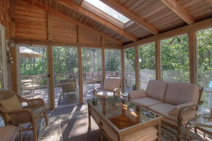Wellfleet Cape Cod vacation rental - Relax on the comfortable screened in porch