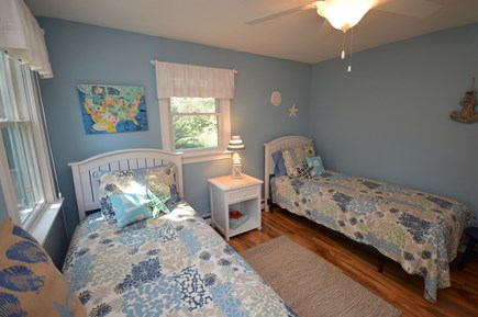 Orleans Cape Cod vacation rental - Upstairs bedroom with 2 twins