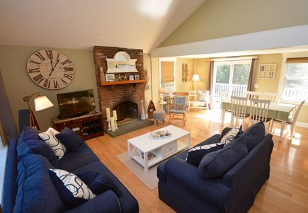 Orleans Cape Cod vacation rental - Open living room and dining