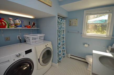 Orleans Cape Cod vacation rental - Main floor bath and laundry