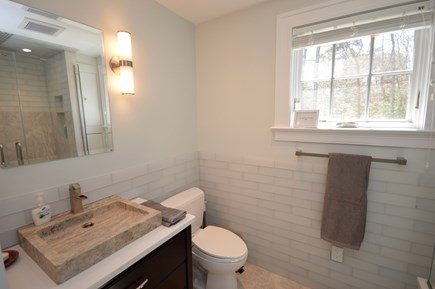 Orleans Cape Cod vacation rental - Main Floor Master En suite with full modern shower