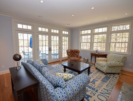 Orleans Cape Cod vacation rental - Spacious open living room - plenty of seating with Smart TV