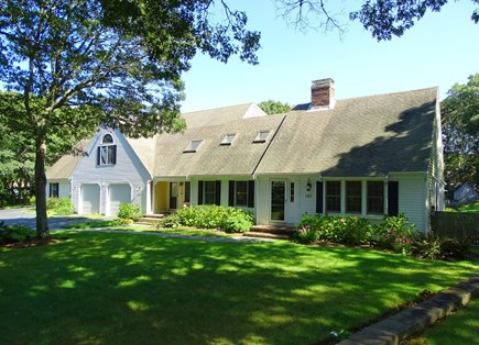 Barnstable Village Cape Cod vacation rental - Front view-Professionally Landscaped