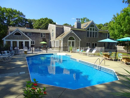 Barnstable Village Cape Cod vacation rental - Inground 40' by 20' heated pool