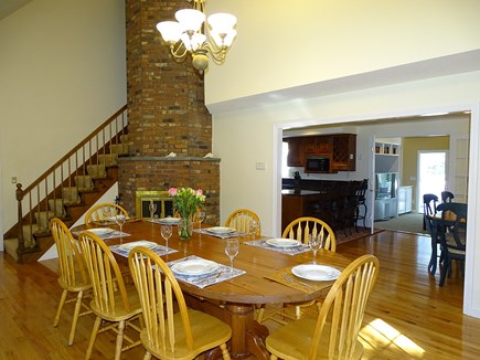 Barnstable Village Cape Cod vacation rental - Cathedral Ceilinged Dining Room-Seats 10!