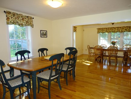 Barnstable Village Cape Cod vacation rental - Two dining areas, adjacent to kitchen and TV room