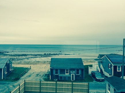 Sandwich, Town Neck Cape Cod vacation rental - Beach from 2nd floor deck