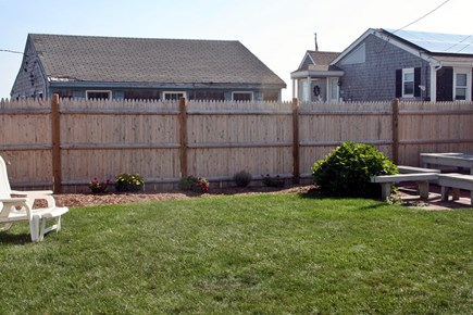 Sandwich, Town Neck Cape Cod vacation rental - Back yard