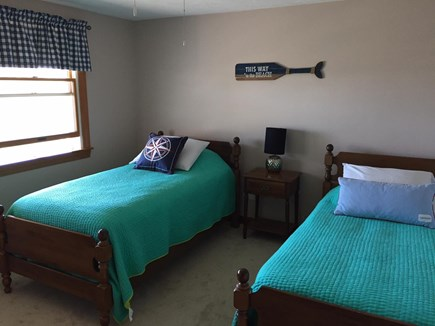 Sandwich, Town Neck Cape Cod vacation rental - 1st floor two twin beds