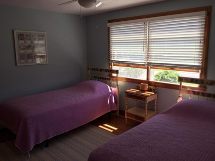 Sandwich, Town Neck Cape Cod vacation rental - 2nd floor two twin beds