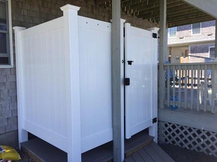Sandwich, Town Neck Cape Cod vacation rental - Outdoor shower