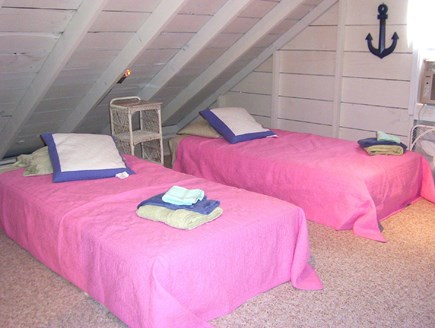 Dennisport Cape Cod vacation rental - Second Floor Loft Area with Twin Beds