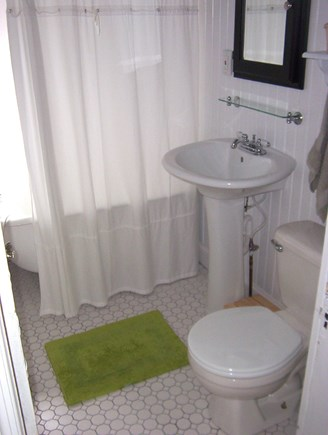 Dennisport Cape Cod vacation rental - First Floor Full Bathroom with Claw Foot Tub
