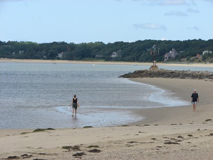 Wellfleet Cape Cod vacation rental - Indian Neck Beach, on the Bay side, is about 1 mile away.