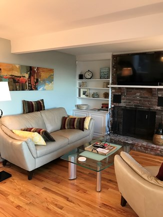 Provincetown Cape Cod vacation rental - Relax in the living room