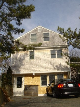 Provincetown Cape Cod vacation rental - Front entrance and parking for 2 cars