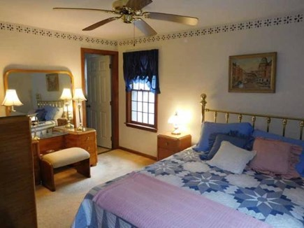South Yarmouth Cape Cod vacation rental - Master Bedroom w/ Full Bath
