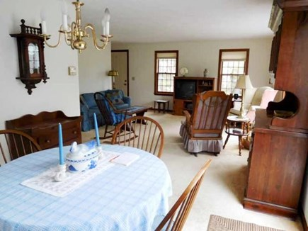 South Yarmouth Cape Cod vacation rental - Dining/Living Area