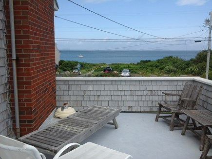 North Falmouth Cape Cod vacation rental - Boardwalk,beach and ocean from raised deck