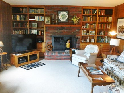 North Falmouth Cape Cod vacation rental - LR from dining area