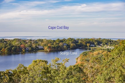 Dennis Cape Cod vacation rental - View from Scargo Tower