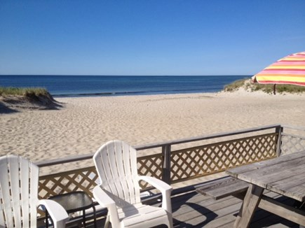 West Dennis Cape Cod vacation rental - Step off your deck to a soft sandy Nantucket Sound Beach