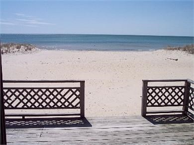 West Dennis Cape Cod vacation rental - View from the deck