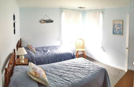 West Dennis Cape Cod vacation rental - Second bedroom with twin beds