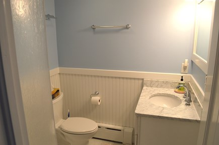 East Dennis Cape Cod vacation rental - Queen master bath on first floor