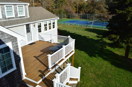 East Dennis Cape Cod vacation rental - Back yard and deck