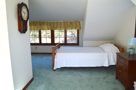 East Dennis Cape Cod vacation rental - Upper bedroom with 3 twins