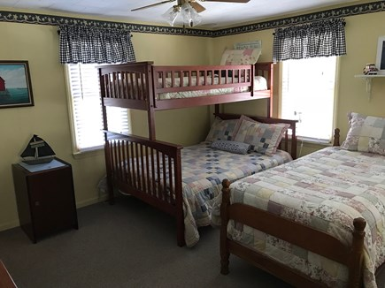 South Yarmouth Cape Cod vacation rental - Bedroom w/full & 2 twins