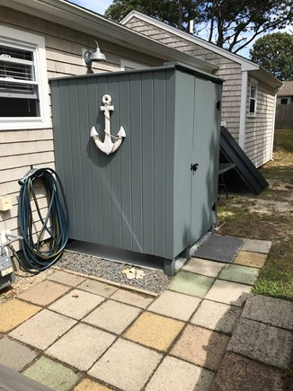 South Yarmouth Cape Cod vacation rental - Outside shower