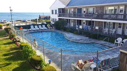 Dennisport Cape Cod vacation rental - On site heated pool. Open daily from Memorial Day to Labor day