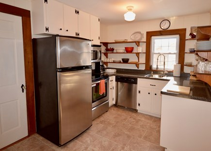 Orleans Cape Cod vacation rental - Well-equipped kitchen with stainless steel appliances