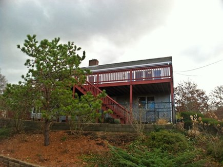 Brewster Cape Cod vacation rental - Deck and yard