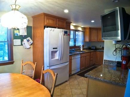 Brewster Cape Cod vacation rental - Eat-in kitchen.