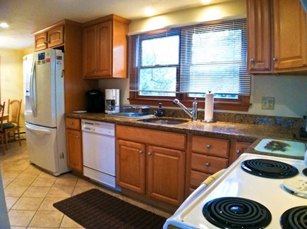 Brewster Cape Cod vacation rental - Remodeled and fully-equipped kitchen.