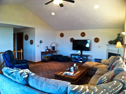 Brewster Cape Cod vacation rental - Spacious 2nd floor family room w/flat screen TV