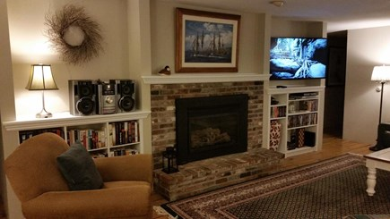 Eastham Cape Cod vacation rental - Living Room with 4K HDTV, Cable & Wireless Internet