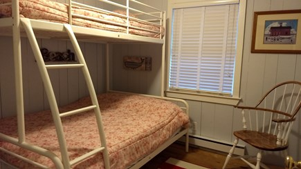 Eastham Cape Cod vacation rental - Bedroom 3, BunkBed with Full Lower, Twin Upper