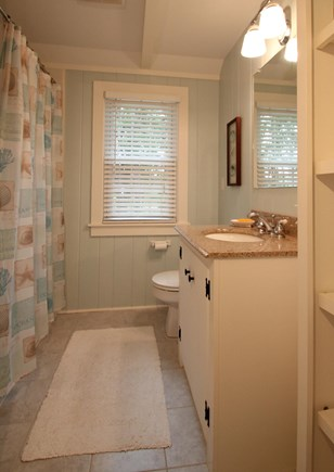 Hyannis Port Cape Cod vacation rental - Bathroom has wshr/dryer, tub with shower. Redone recently.