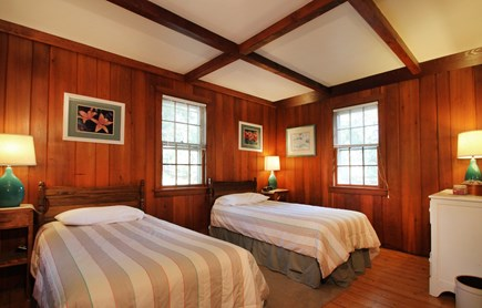 Hyannisport Cape Cod vacation rental - The twin bedroom is spacious and comfortable.