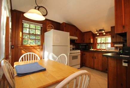 Barnstable, Hyannis Port Cape Cod vacation rental - The kichen is decorated in true cape cod style w/all amenities.