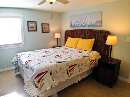 Yarmouth Cape Cod vacation rental - Master bedroom also has  AC, TV/DVD, and ceiling fan.