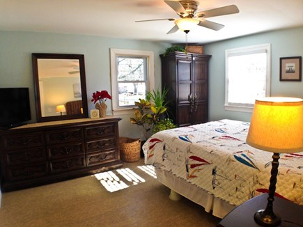 Yarmouth Cape Cod vacation rental - The master bedroom has a queen bed.