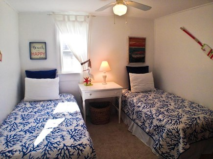 Yarmouth Cape Cod vacation rental - The 3rd bedroom has 2 twin beds.