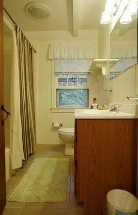 Hyannisport Cape Cod vacation rental - Bath Tub and shower. Recently renovated