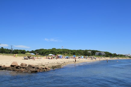 Barnstable, Hyannis Port Cape Cod vacation rental - This Beach Is A Short Walk Away 500' walk over natural trail.