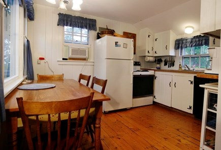 Hyannisport Cape Cod vacation rental - Kitchen fully equipped with seating for 6